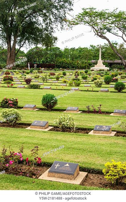 Chungkai War Cemetery, Kanchanaburi, Thailand