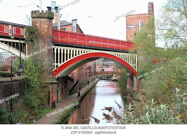 Castlefield is an inner city conservation area of Manchester. England. UK