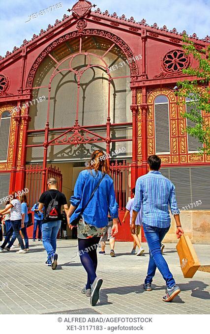 Sant Antoni Market, Barcelona, Catalonia, Spain