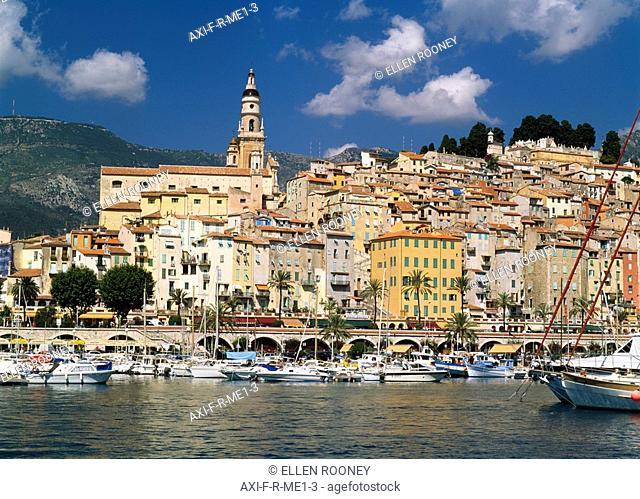 Menton , Cote d'Azur, French Riveria, France
