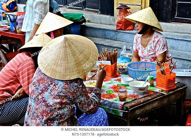 Vietnam, Quang Nam, Hoi An ancient town, declared World Heritage by UNESCO, market