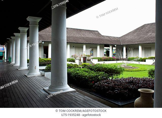 old courthouse, kuching, sarawak, malaysia