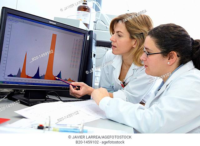 HPLC-MS (High Performance Liquid Chromatography-Mass Spectrometry), Analysis Lab, IkerChem research lab, design and synthesis of new chemical entities with...