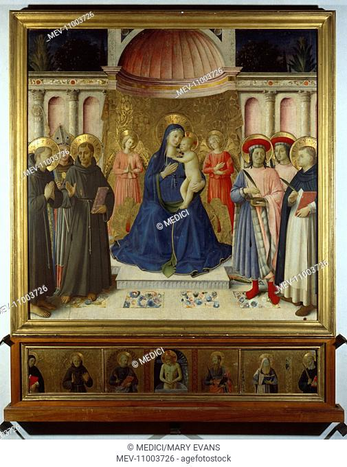 Pala di Bosco ai Frari' – Altarpiece – Madonna and Child with Angels and Saints