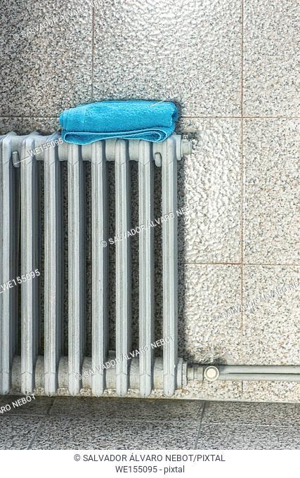Towel on a radiator