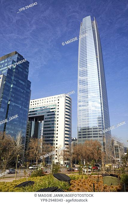 Gran Torre Costanera Tower, La Costanera, La Costanera Center, Santiago, Chile