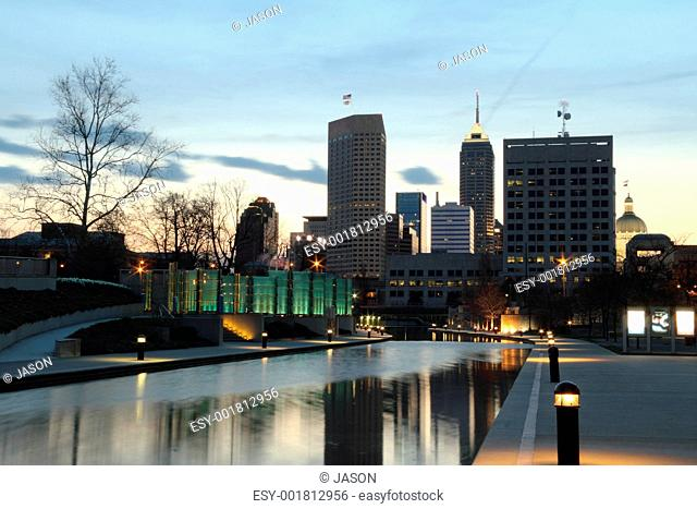 Cityscape with Canal