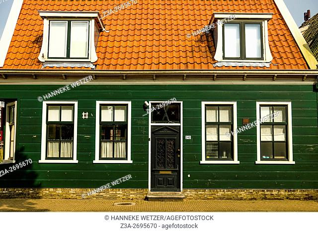 Typical architecture in Zaandam, The Netherlands