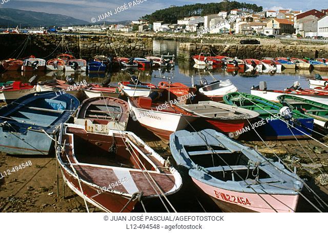 Cape Cruz. La Coruña province, Galicia, Spain