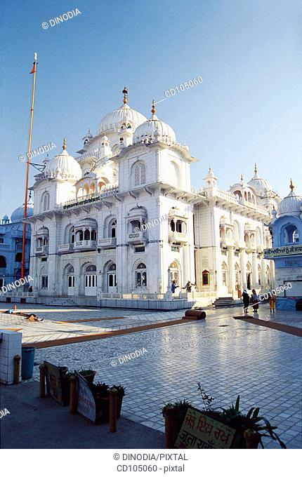 Harmandir Sahib (aka Patna Sahib), 'gurudwara' that commemorates birthplace of guru Govind Singh. Patna. Bihar, India