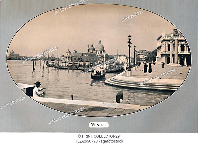 'Venice', 1917. Artist: John Swain & Son