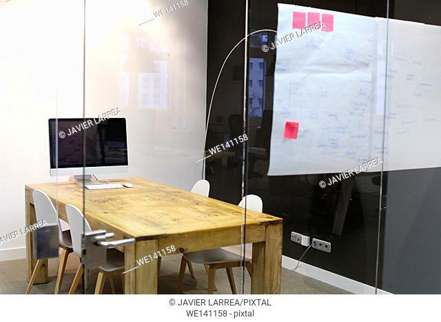 Meeting room. Empty office. Advertising agency
