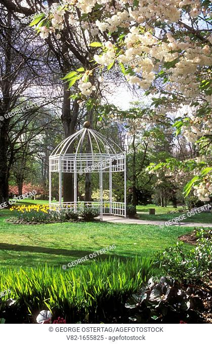 Gazebo, Wright Park, Tacoma, Washington
