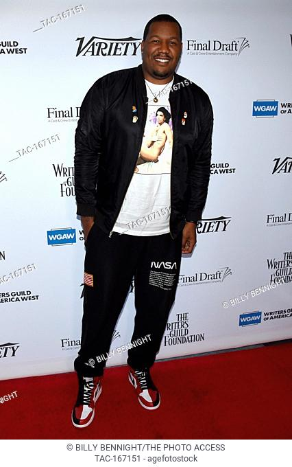 Travon Free attends the 70th Annual Primetime Emmy Awards writing nominees' 2018 Sublime Primetime Panel Discussion at the Writers Guild Theater on September 12