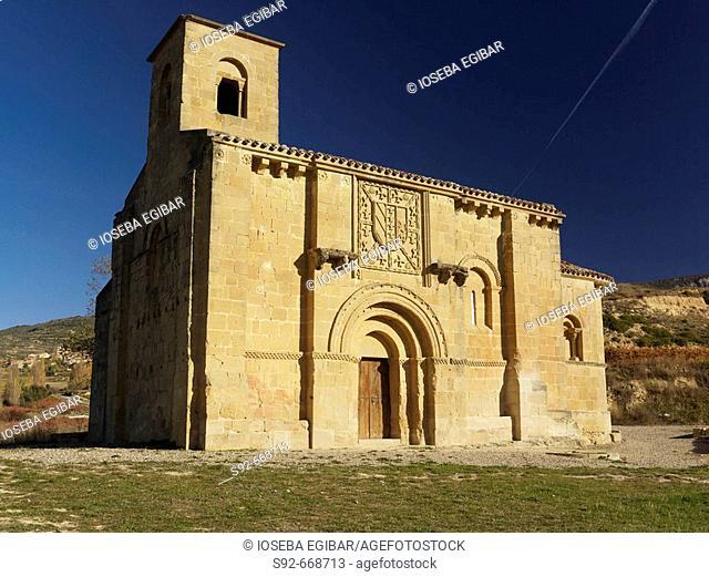 Nuestra Señora de la Piscina romanesque church. Rioja. Spain