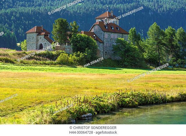 Schloss Surlej am Silvaplanersee