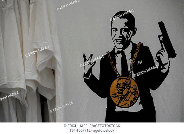 Barack Obama Critic on a T-shirt