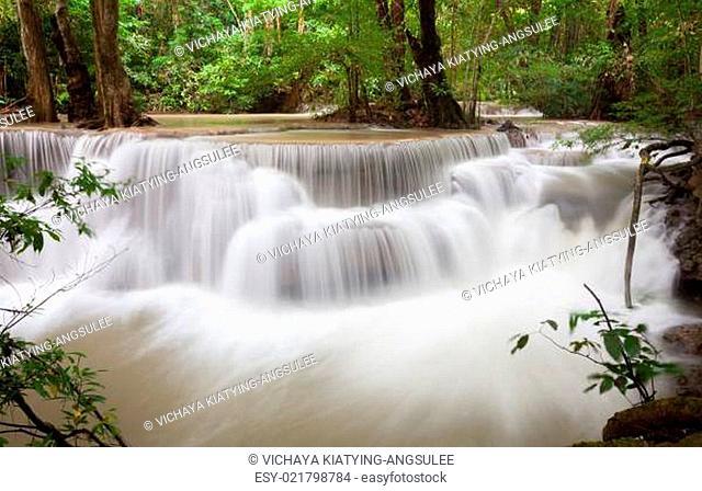 Tropical Waterfall Thailand