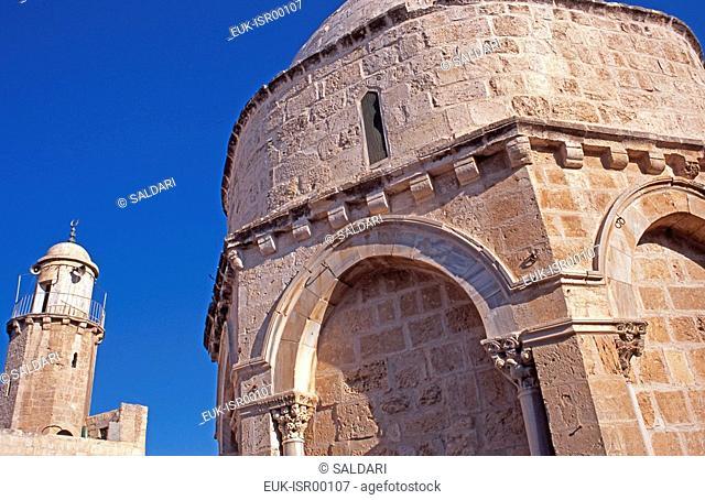 Chapel of the Ascension, Mount of Olives,Jerusalem,Israel