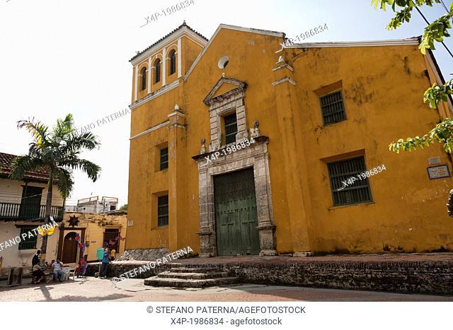 Iglesia de la Santissima Trinidad, Cartagena, Colombia