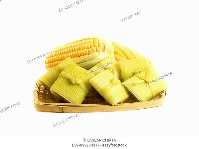 Brazilian traditional food Pamonha