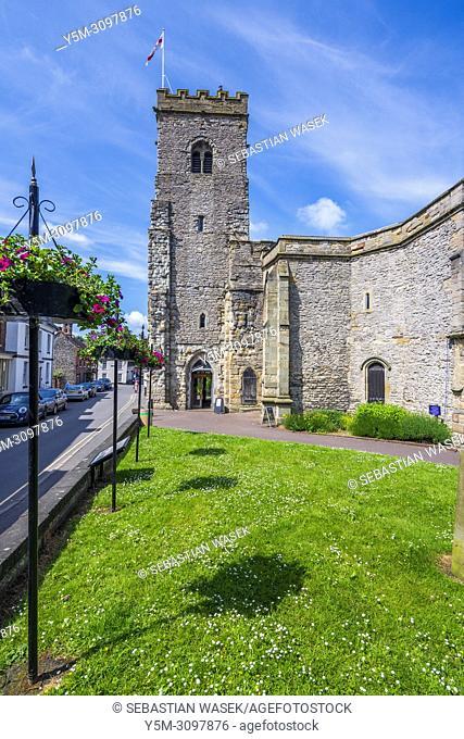 Holy Trinity Parish Church, Much Wenlock, Shropshire, England, United Kingdom, Europe