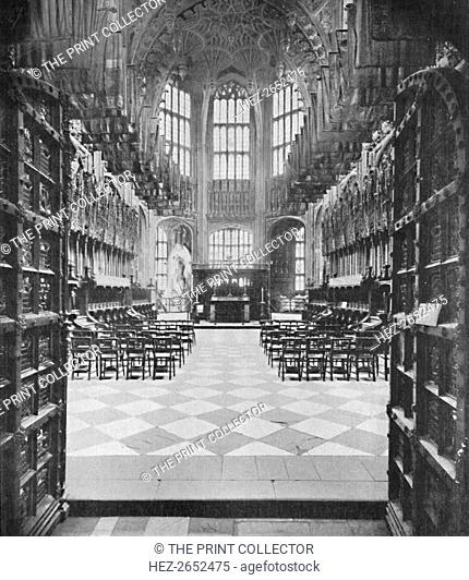 'Henry VII.'s Chapel, Westminster Abbey', 1903. The Henry VII Lady Chapel, now more often known just as the Henry VII Chapel