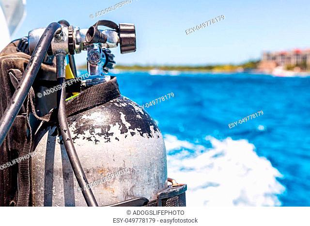 scuba, tank, diving, oxygen, water, sea, sport