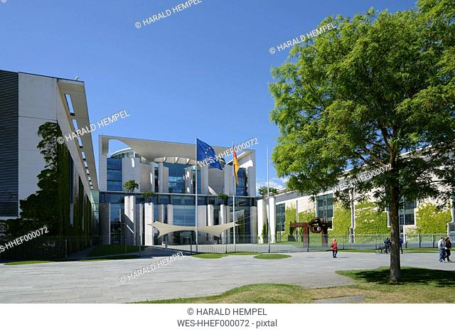 Germany, Berlin, Chancellery