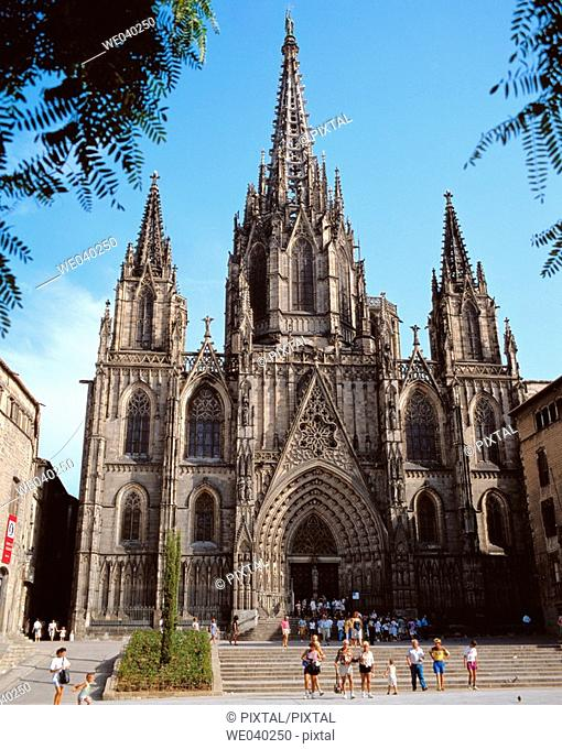 Cathedral, Barcelona. Catalonia, Spain