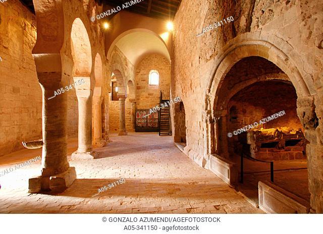 Monasterio de Suso (Built between VI and XI Century). San Millán de la Cogolla. La Rioja. Spain