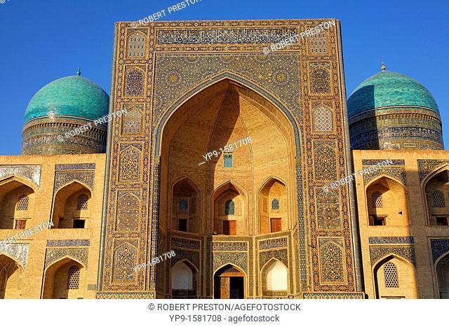 The Mir-i-Arab Medressa, Bukhara, Uzbekistan