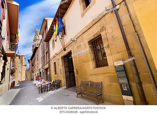 Old Municipal Butcher, Typical Architecture, Street Scene, Santo Domingo de la Calzada, Camino de Santiago, St. James Way, Road to Santiago, La Rioja, Spain