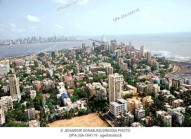 aerial view of bandra at mumbai maharashtra India