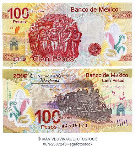 100 pesos banknote, Mexico, 2007