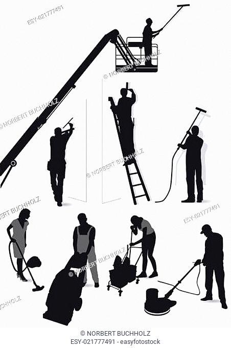 Gebäude Service und Reinigung