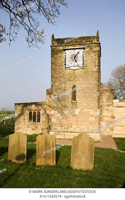 St Marys Church Fridaythorpe East Riding of Yorkshire England