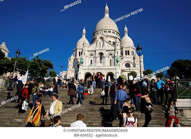 Basilique du Sacré Coeur de Montmartre, Paris, France, Europe