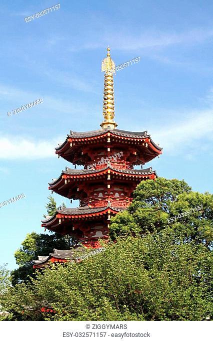 Kawasaki Daishi temple in Kawasaki, Japan