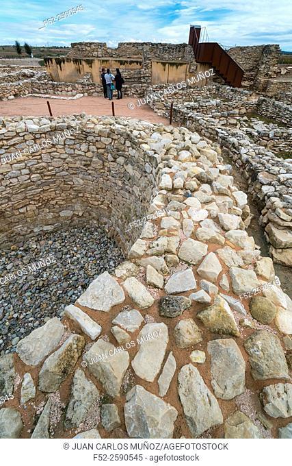 Els Vilars Iberian settlement, Arbeca, Les Garrigues, Lleida, Catalunya, Spain