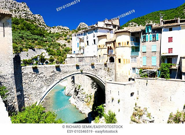 Entrevaux, Provence, France