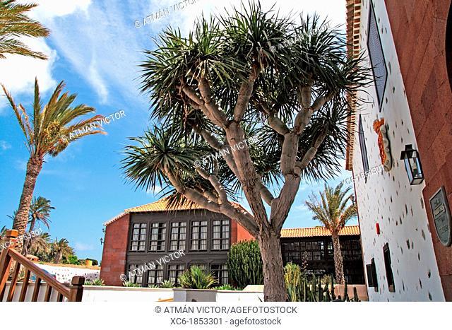 Parador Hotel in La Gomera island Spain
