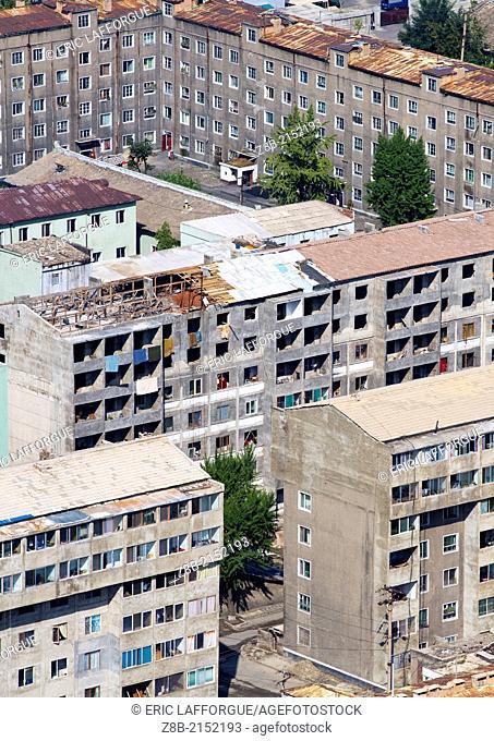 Old Buildings, Pyongyang, North Korea