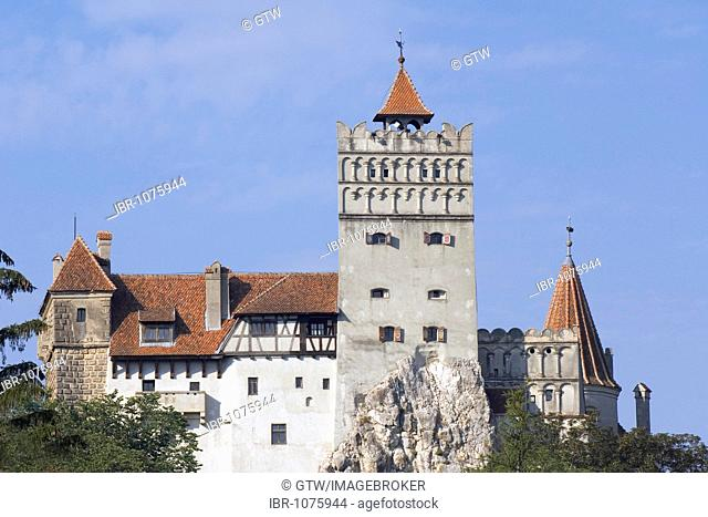 Bran Castle or Dracula's Castle, Wallachia, Carpathian Mountains, Romania