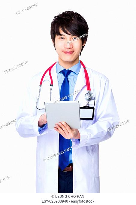 Doctor use of the tablet pc