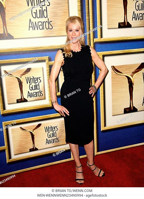 2016 Writers Guild Awards at Hyatt Regency Century Plaza - Arrivals Featuring: Moia Walley-Beckett Where: Los Angeles, California