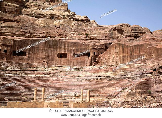 Tombs in the Wadi Musa Area, Dates 50 BC to 50 AD, Petra, Jordan