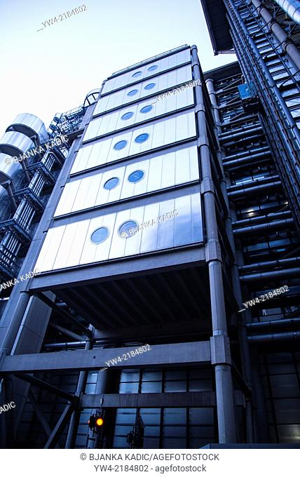 Lloyd's building, City of London, England, UK