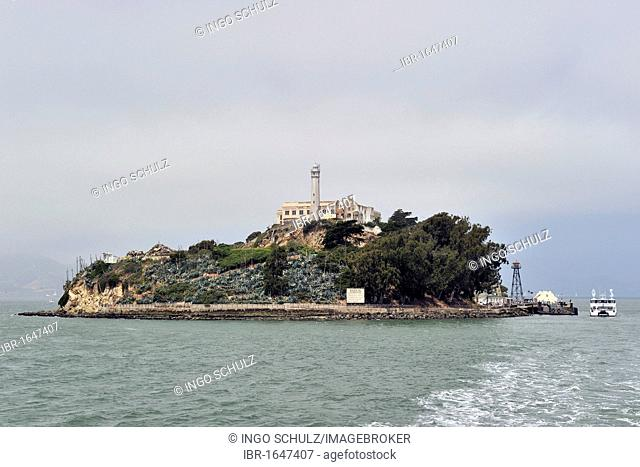 Prison island of Alcatraz, San Francisco, California, USA