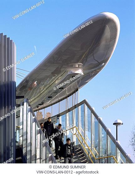 LANGDON PARK DLR STATION, LONDON, UNITED KINGDOM, Architect CONSARC CONSULTING ARCHITECTS, 2007